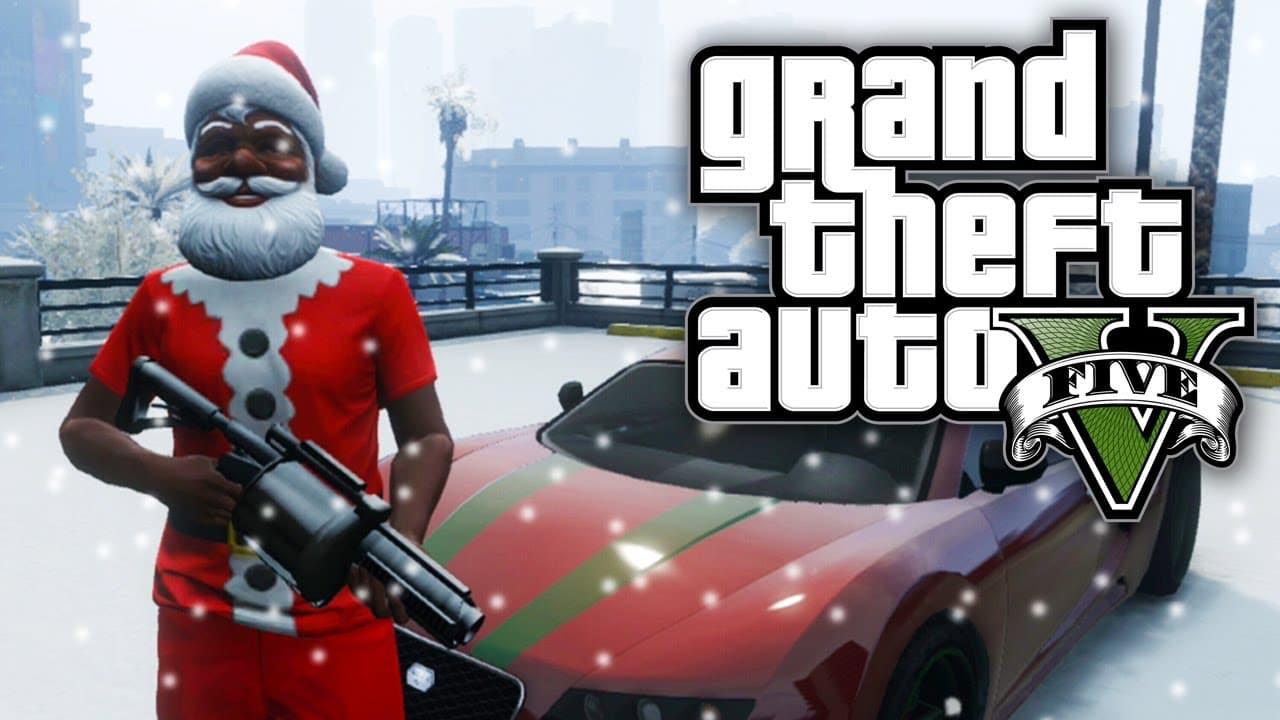 Christmas in Los Santos in GTA 5… Thug Life! (Video)