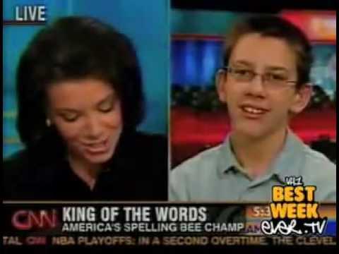 Little Boy in Spelling Bee Has to Spell… N*ggas?! (Video)