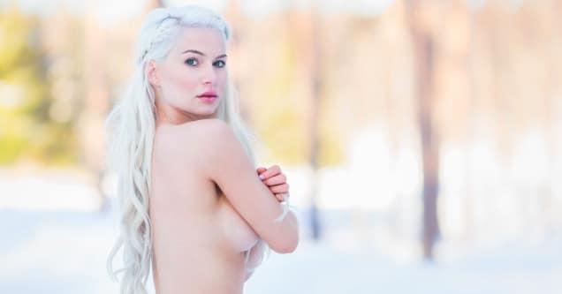 17 Sexy Snapchats of Amalie Helene's Hot Photoshoot