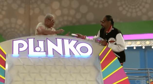 Snoop Dogg Owns Plinko on Price is Right (Video)