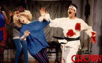 SNL Jim Carrey Karate Instructor for Kicks and Giggles (Video)