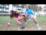 Teaching Bae About Football (Video)