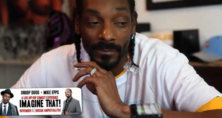 Snoop Dogg Makes a Hilarious Prank Call (Video)
