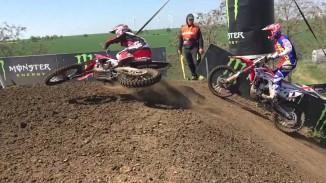 Tim Gajser Owning the Motocross Tracks, Scrubbing Like a God! (Video)