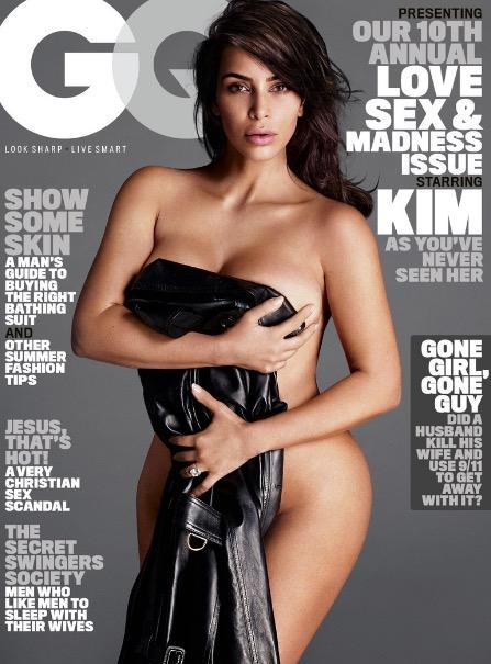 Kim Kardashian Nude GQ Photos 5