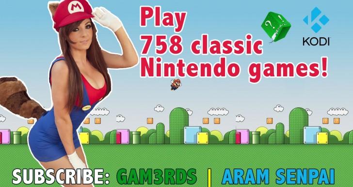 Play Over 750 Classic Nintendo Games to Play on Kodi (Video)