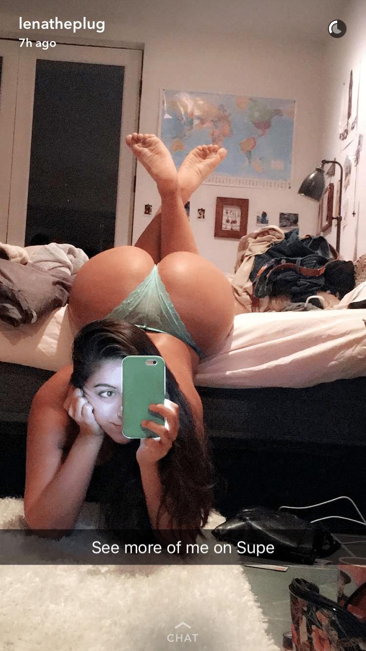 Sexiest Lenatheplug Snapchat Pictures