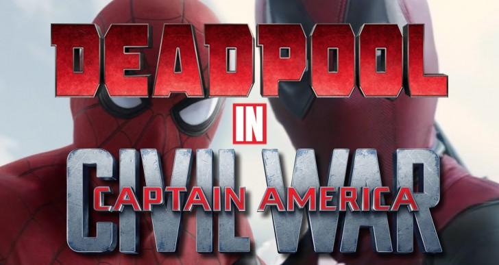 Deadpool in Civil War Movie's Spiderman vs Captain America Scene (Video)