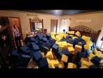 Indoor Foam Pit Prank (Video)