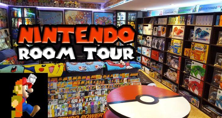 Hardcore Nintendo Room Collection (Video)