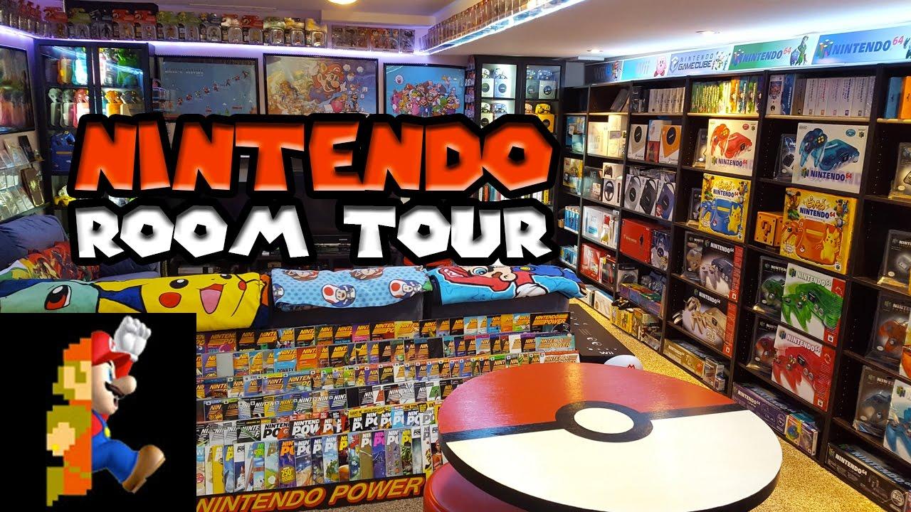 Hardcore Nintendo Room Collection Video Therackup