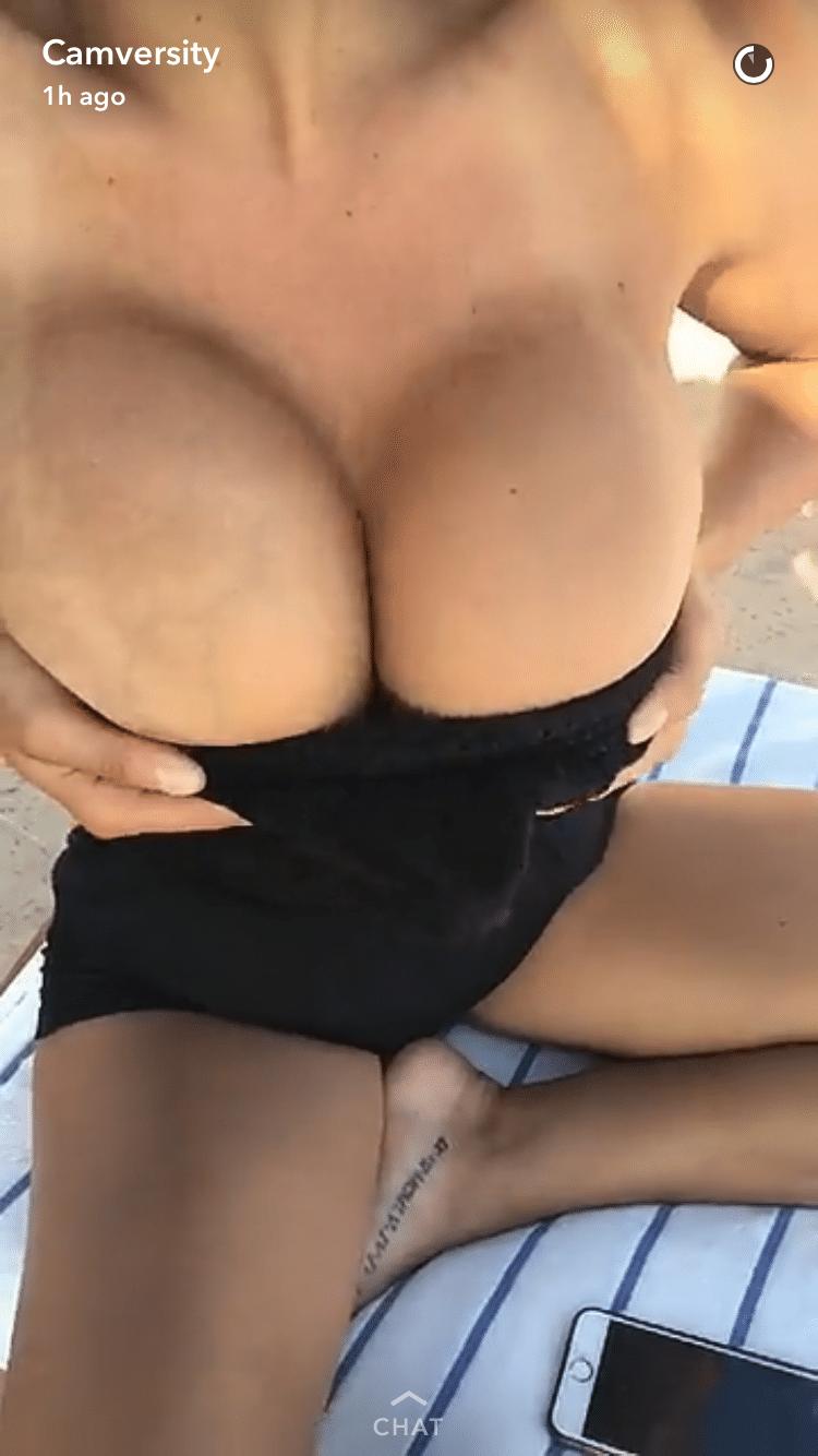 big boobs snapchat