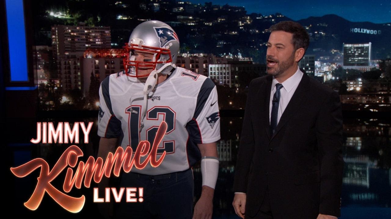 MVP Tom Brady Surprises Jimmy Kimmel Big Time (Video)