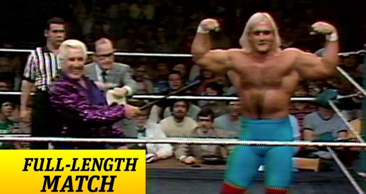Hulk Hogan's WWE Debut Video
