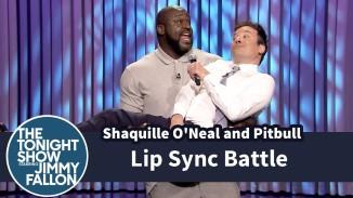 Jimmy Fallon vs Shaq in a Funny Lip Sync Battle (Video)