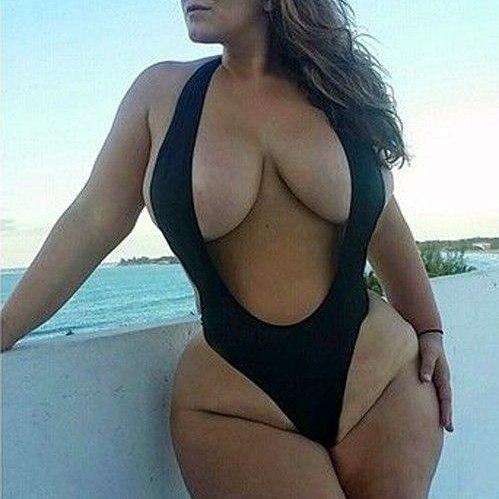 Thick Women in Bikinis