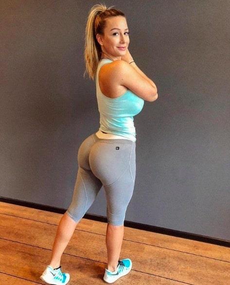 Cute Girl in Yoga Pants