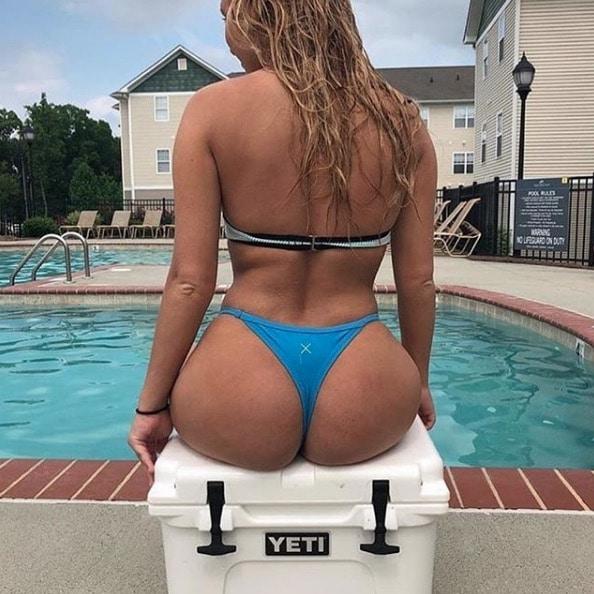 Bikini Thong Yeti Butt
