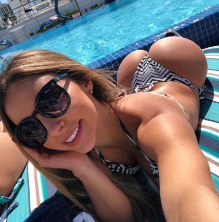 Bikini Thong Selfie